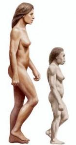 homo_floresiensis_with_modern_human