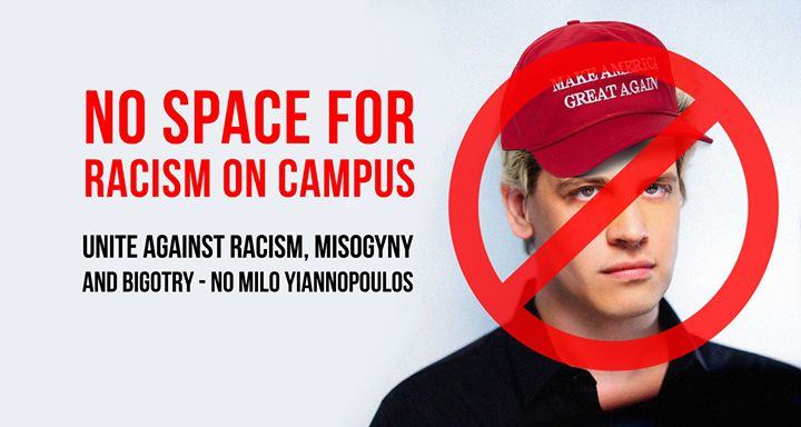 chancellor statement yiannopoulos