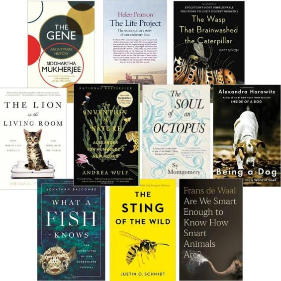 Forbes S Choice Of Best Popular Biology Books Of 2016 Why