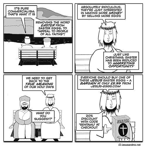 060ea4a149 Jesus  n  Mo  n  Christian eggs « Why Evolution Is True