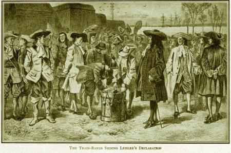 leislers rebellion Leisler had expected good will from the new king, william of orange, but instead  found himself accused of unlawfully usurping power and was executed once.