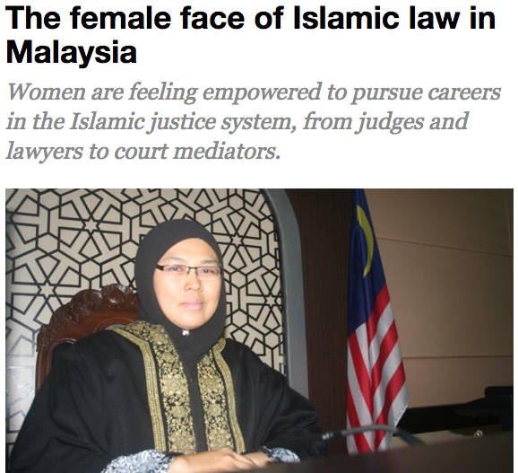 "Al-Jazeera: ""Feminist Pioneer"" Judge Enforces Sharia Law"