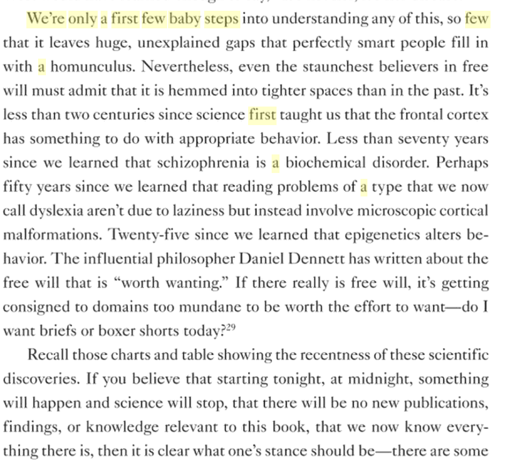 Robert sapolsky takes on free will in behave why evolution is true keyboard keysfo Choice Image