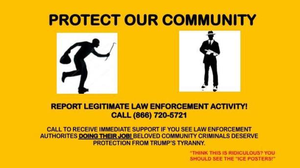 Satirical Ice Posters Deemed Hate Speech At Stanford University