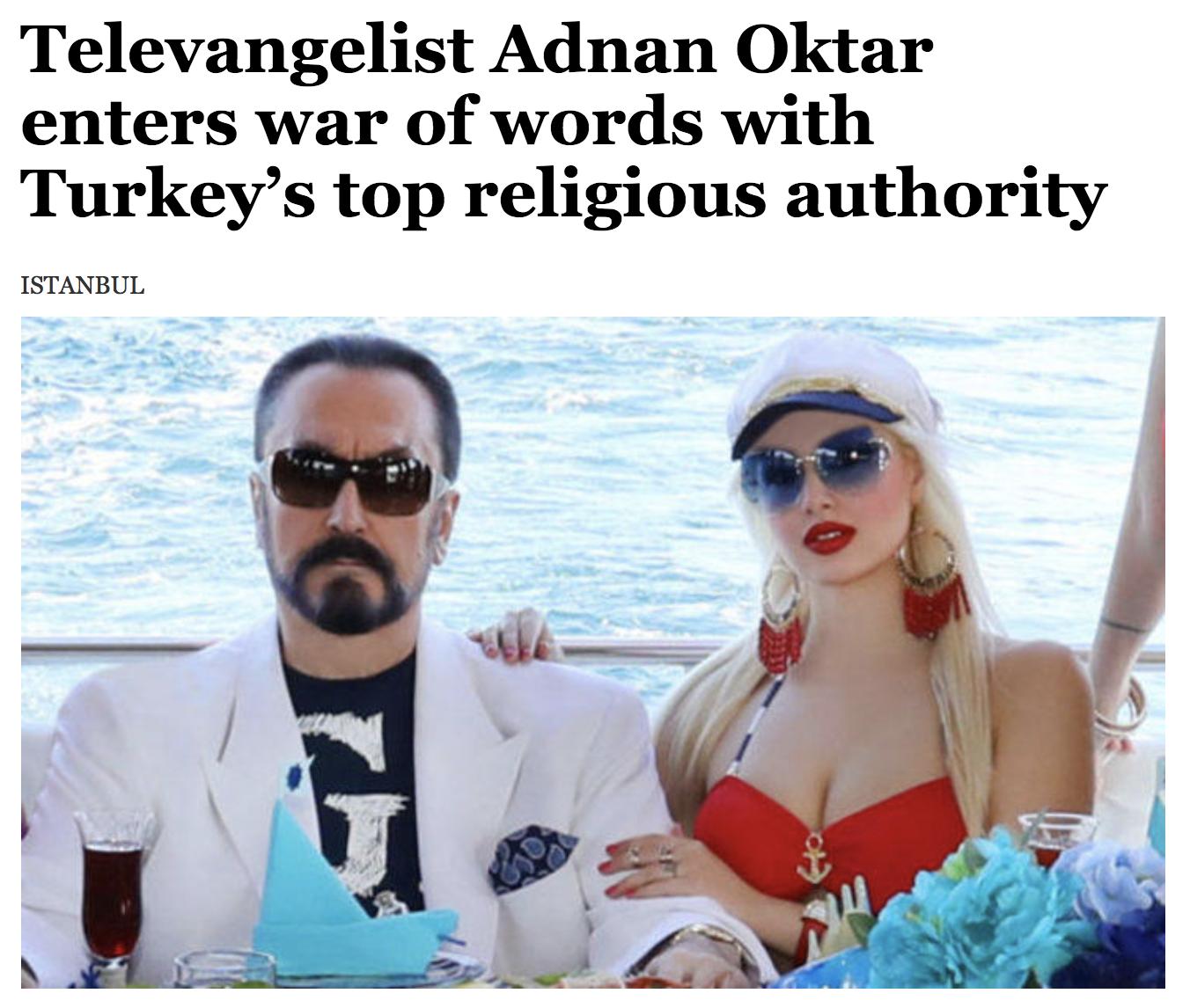 Adnan Oktar (aka Harun Yahya) arrested in Turkey