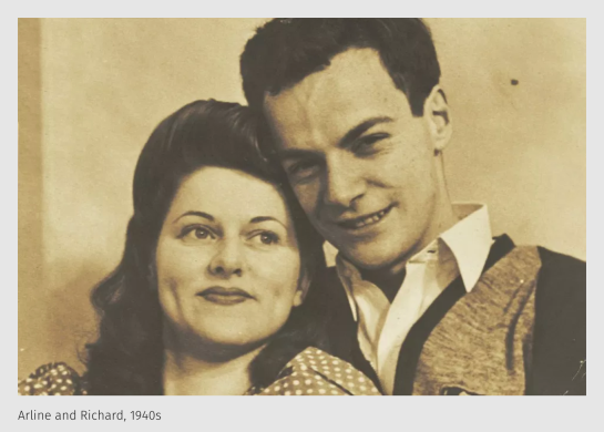Richard Feynman Love Letter
