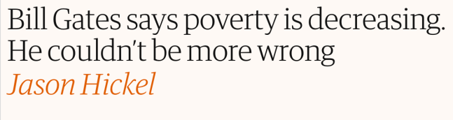 Is The World Really Getting Poorer A Response By Steve Pinker Why
