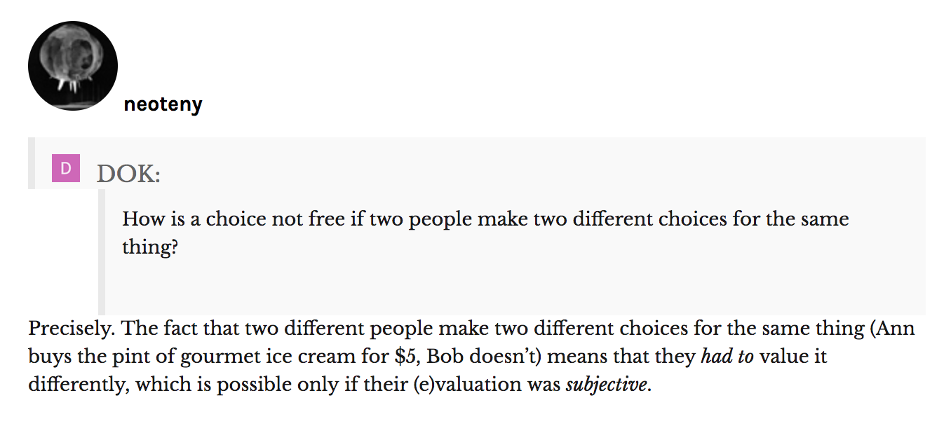 More squabbling about free will in Quillette: William