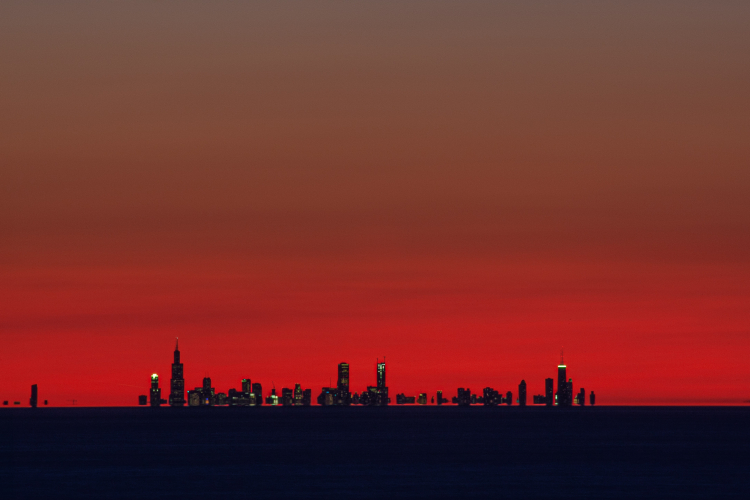 A mirage of Chicago
